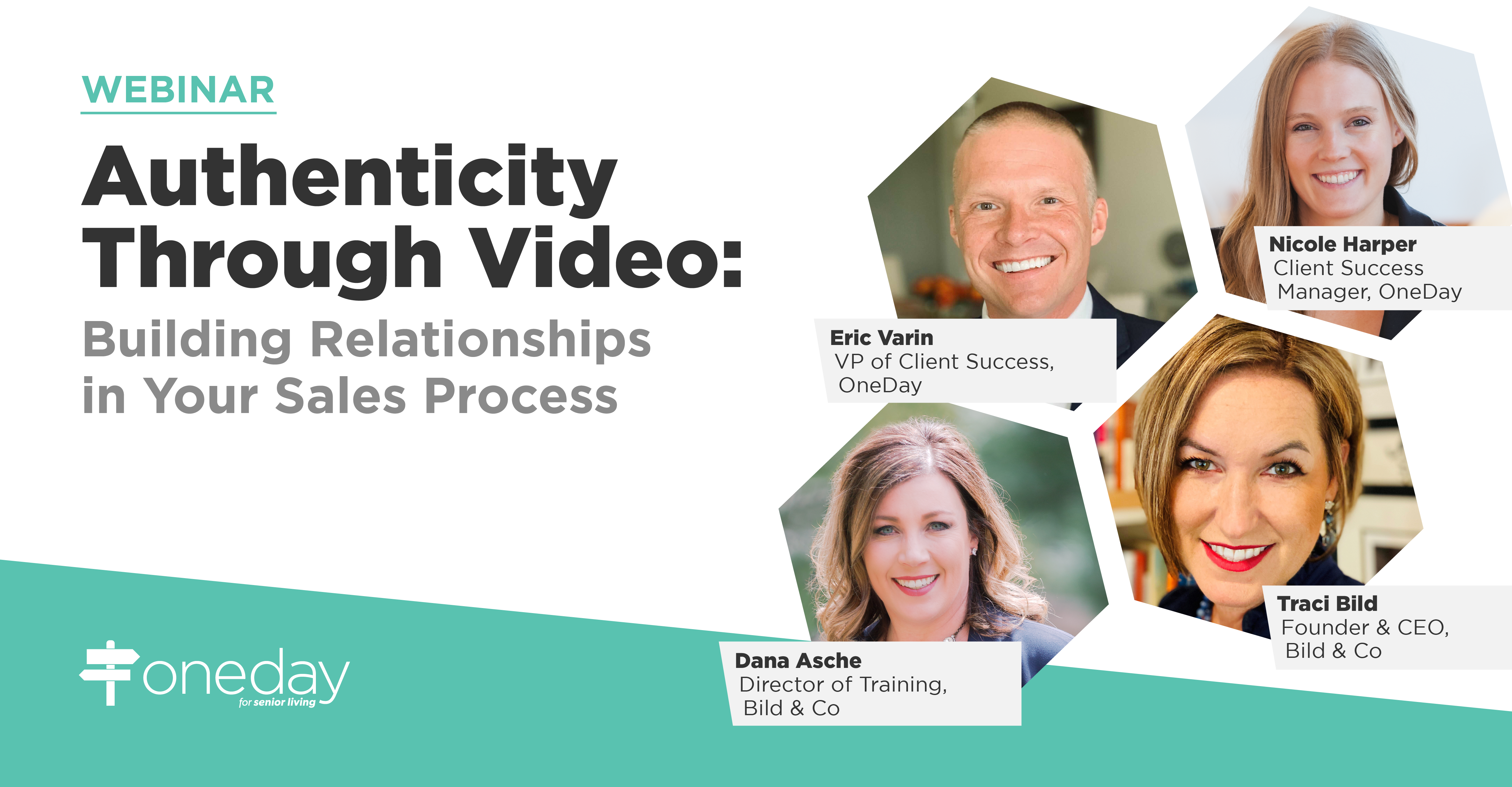 OneDay's latest webinar is a roundtable discussion on simple ways your senior living sales and marketing team can use video to build prospect relationships.